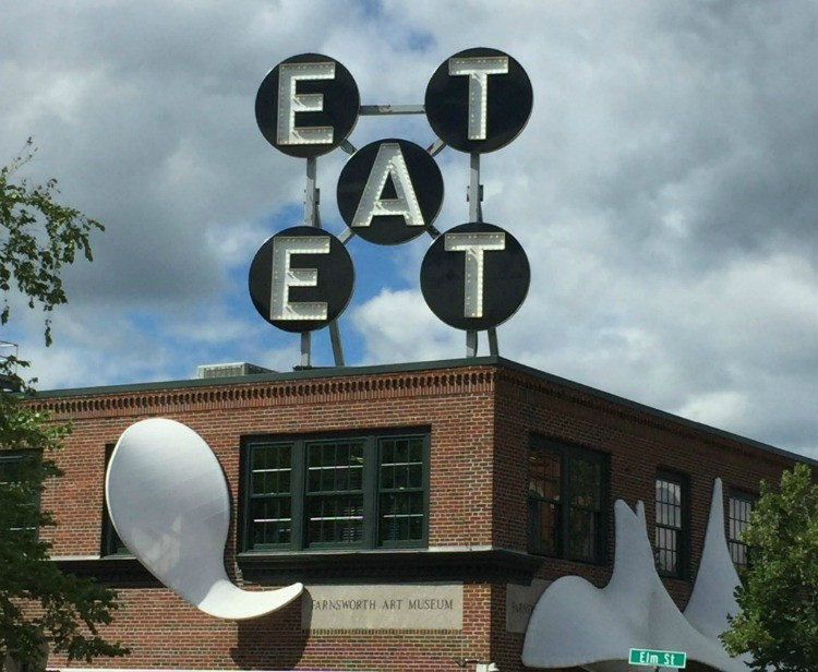 Good Eats in Rockland, a highlight of Maine's Central Coast.