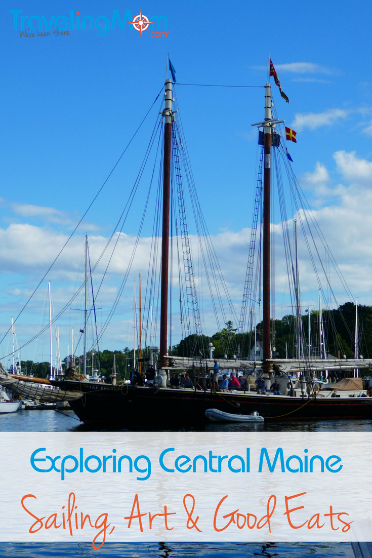 Maine's Central Coast is a getaway destination worth exploring. There's art, sailing, and great food. Oh. And lobster too!
