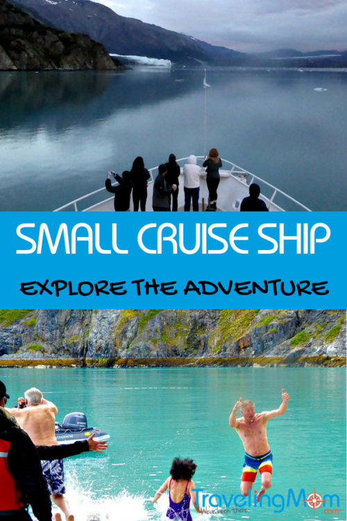 Considering a cruise? Have you thought about going small? There are advantages to small ship cruising, like getting up close and personal with the scenery.