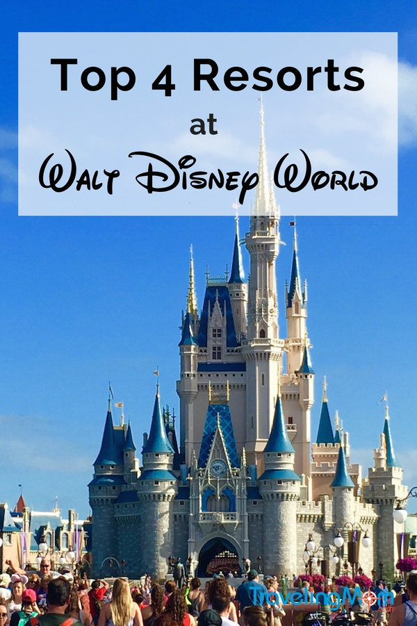 Need the best resort for your trip to Walt Disney World trip? I've got four of my favorite resorts, including a Disney Springs resort.