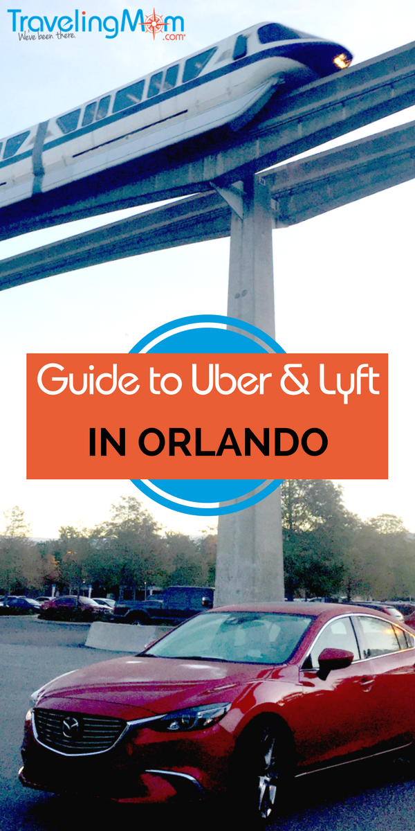 Complete guide to rideshare services in Orlando when theme park transportation won't do! Give Uber and Lyft a try.