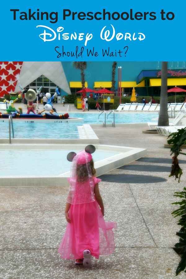 Should I wait to take my preschooler to Disney World? What's the best age for a Disney trip? My family's experience + Top 5 Preschool Activities at Disney