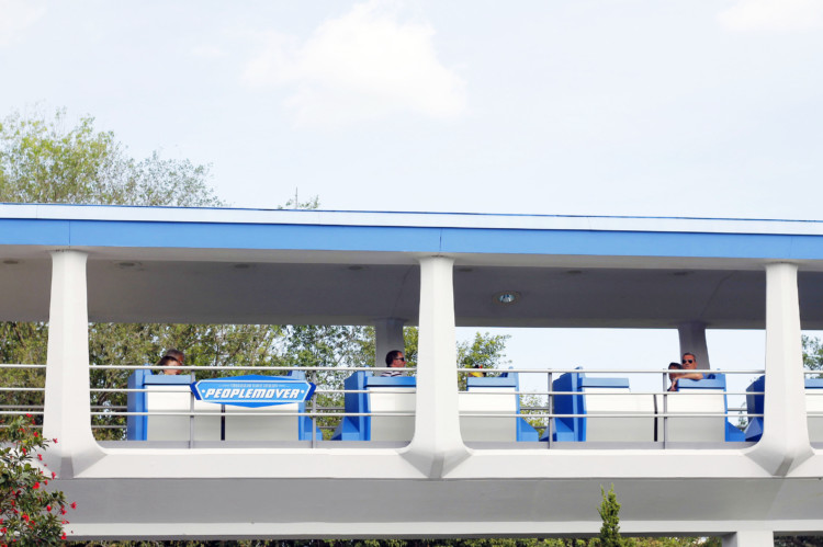 Tomorrowland Transit Authority Peoplemover is a nice, relaxing ride through the skies of Tomorrowland.