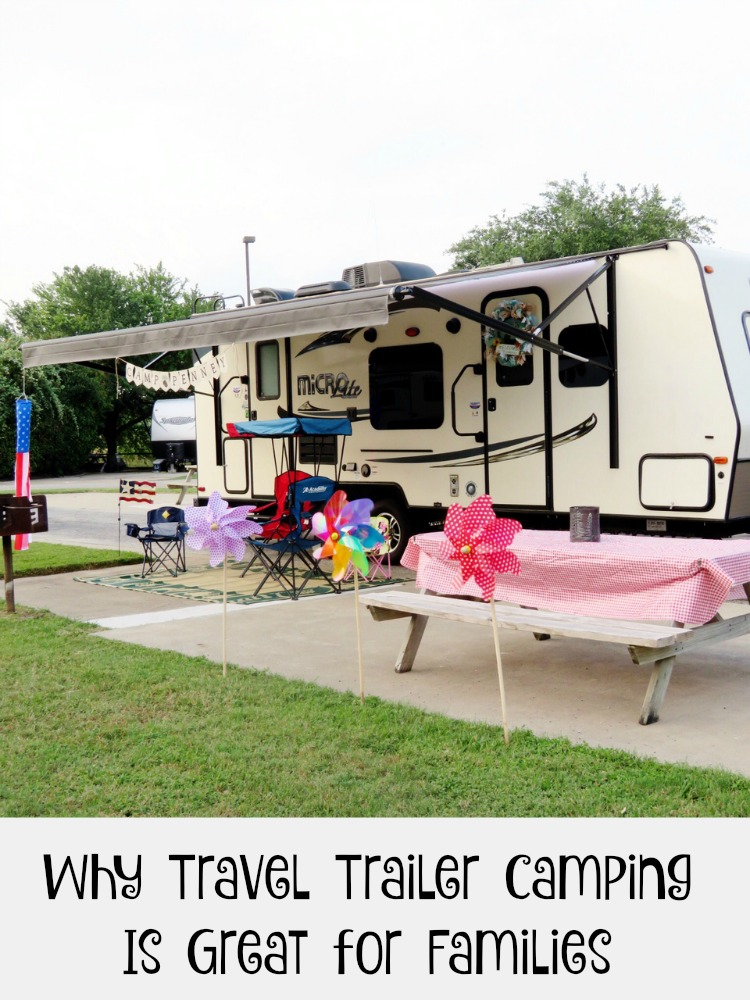 More and more families are travel trailer camping. Travel trailer camping is a great way to get the kids outside. for the family to unplug, and to see new places. Find out if travel trailer camping is right for you.