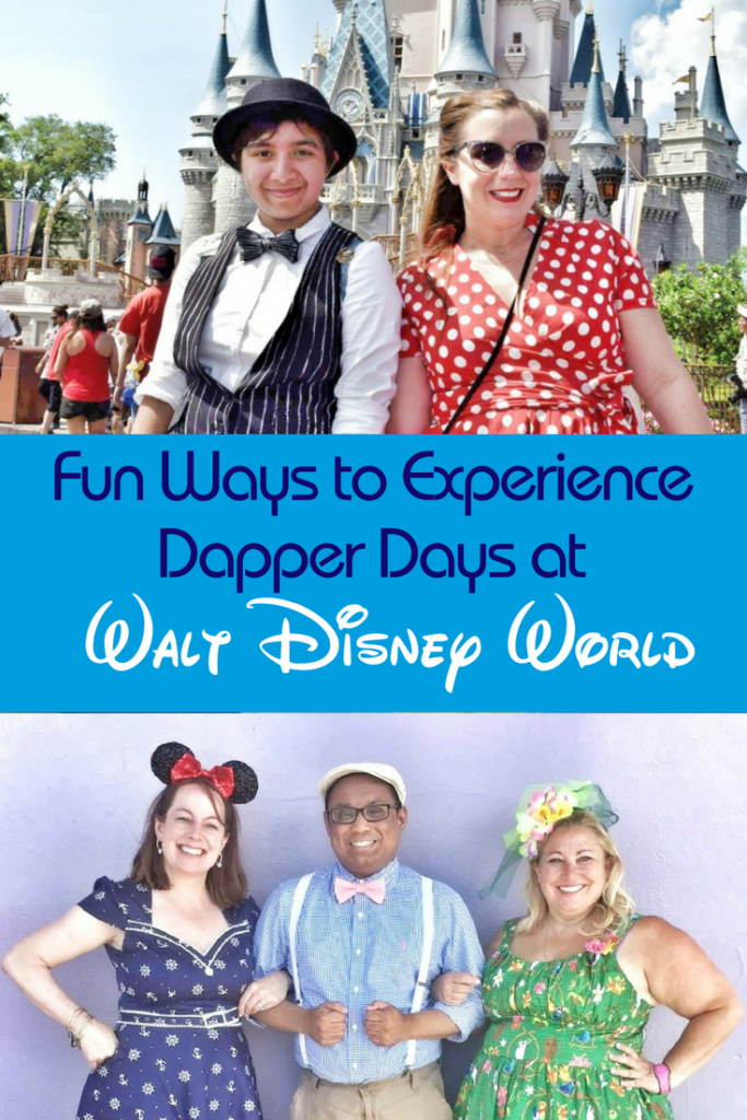 Wonder how to join Dapper Days at Disney? Here's the info you need.