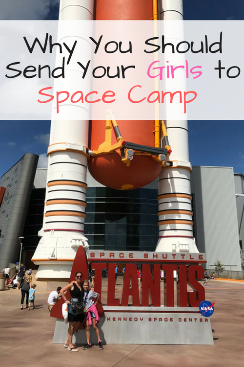 Send your girls to Camp Kennedy Space Center. STEM careers are abundant for women and NASA needs female astronauts! Let them learn at this great space camp!