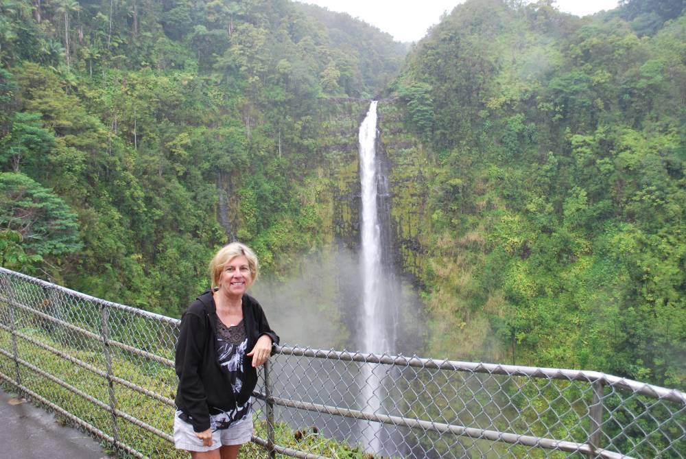 Although Hawaii Island has many unique hawaii island adventure tours, you don't need one to walk through Akaka Falls State Park.