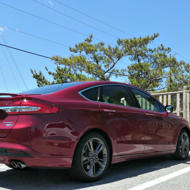 The Ford Fusion Sport helps prevent many road trip fails.