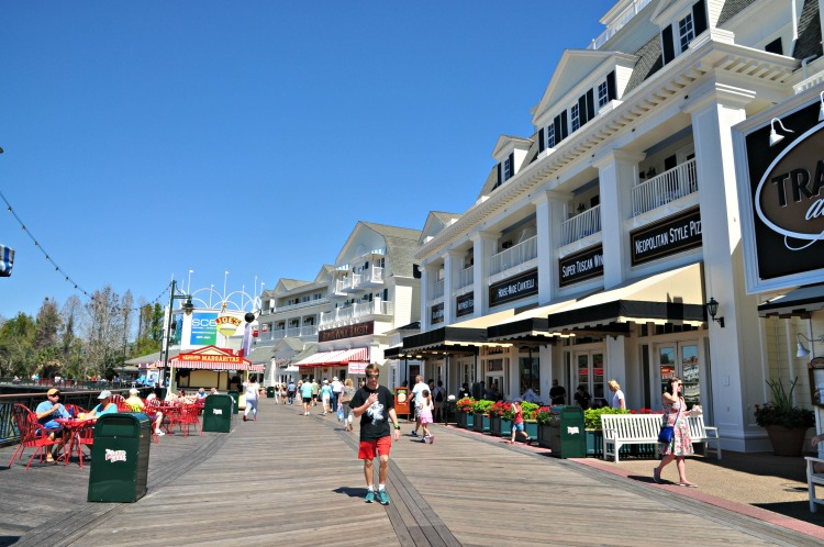 Have you visited the shops and restaurants at Disney's BoardWalk Hotel?