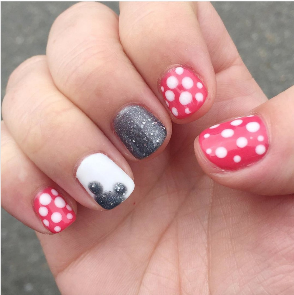magical disney nail design ideas walt disney world
