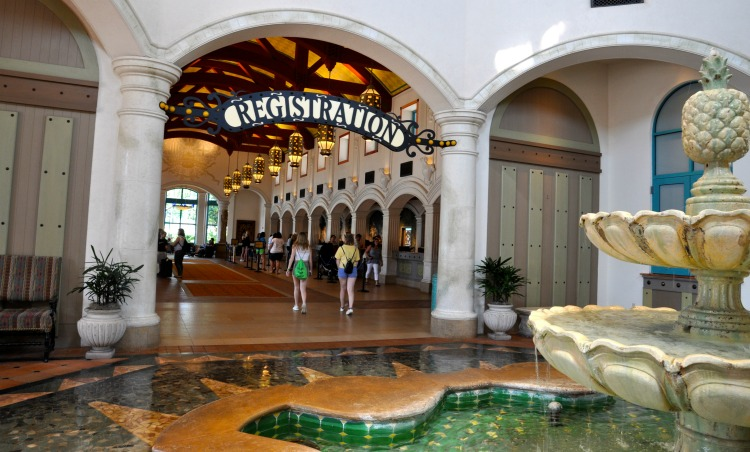 Disney's Coronado Springs Hotel has a Spanish flair.