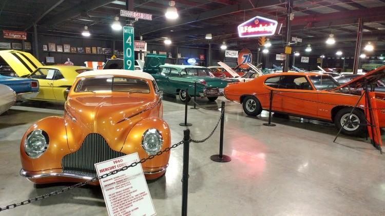 Floyd Garrett Muscle Car Museum Smoky Mountains TN TravelingMom - Gatlinburg car show