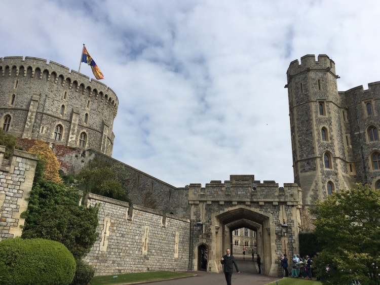 Windsor Castle isn't free in London, but it was new to me