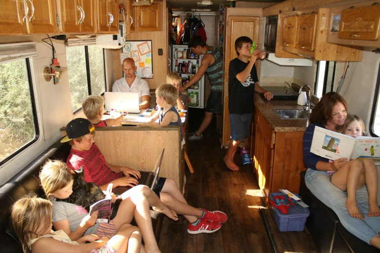 RV Travel is the most leisurely way to travel.