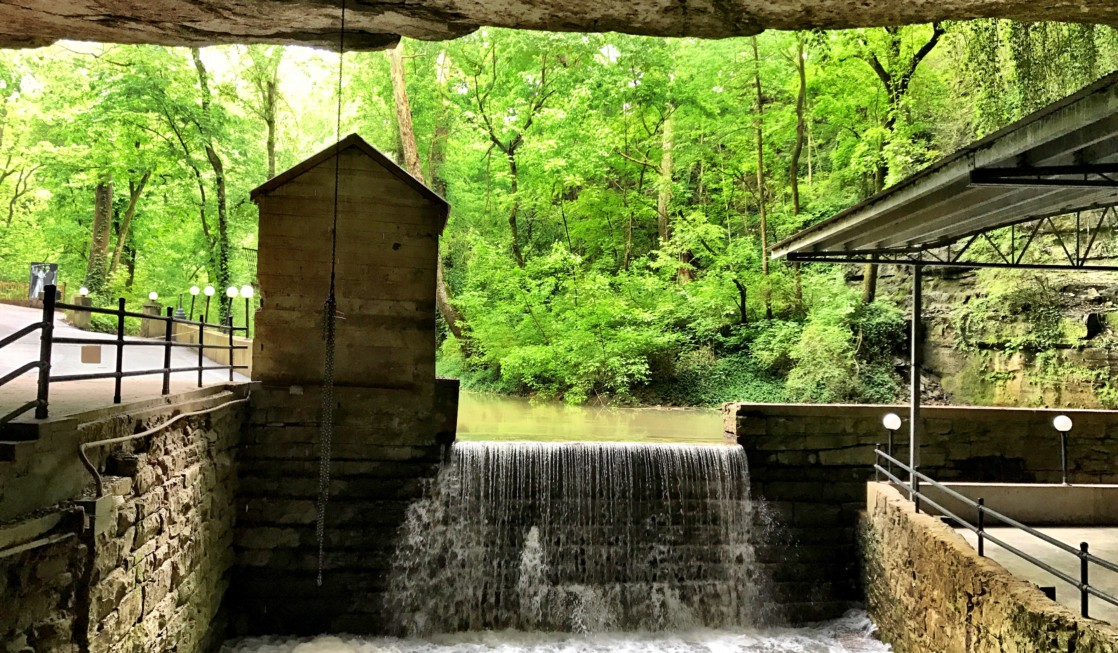 Lost River Cave is a fun place for families to visit in Bowling Green, Kentucky.