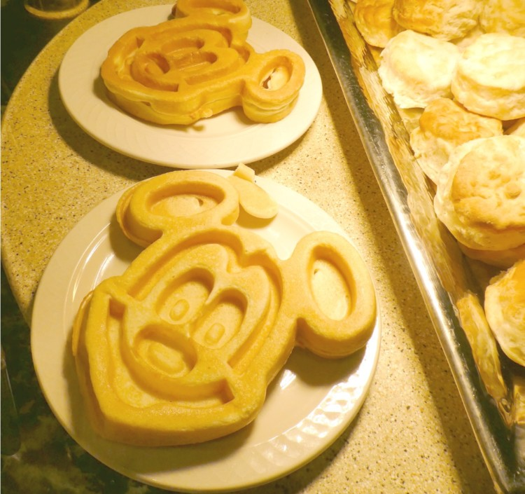 Earn points on your Mickey Waffles - Using Miles and Points for a Disney Vacation