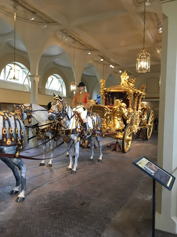 A visit to the Buckingham Royal Mews is free in London