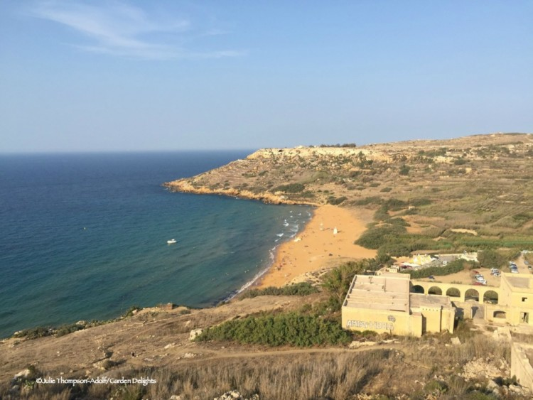 7 fabulous must-see Malta beaches: Ramla Bay in Gozo is ideal for families.