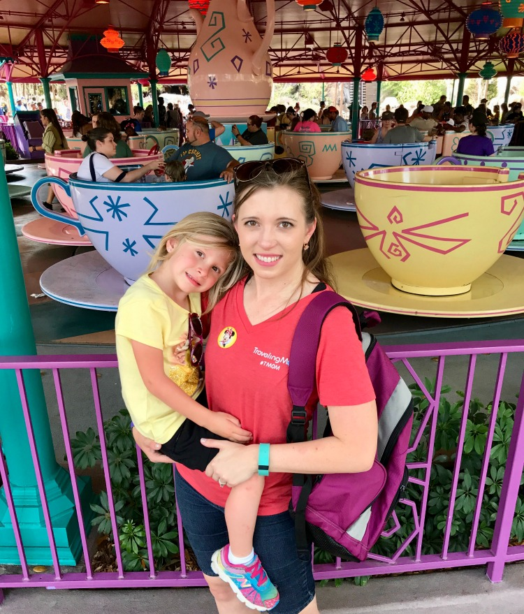 The right age for Disney World is any age. Everyone loves the Mad Tea Party ride at Magic Kingdom.