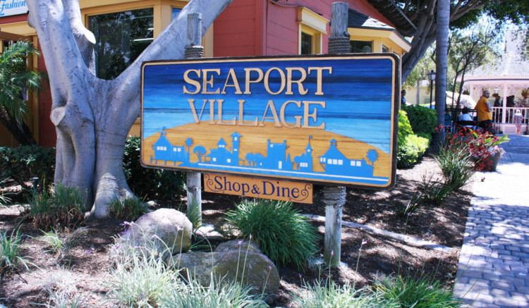 A visit to downtown should include a day trip to the waterfront venue, Seaport Village in San Diego. This district includes outdoor shopping, dining & live entertainment.