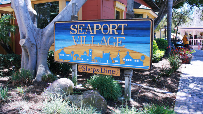 A visit to downtown San Diego should include a day trip to the waterfront venue, Seaport Village. This district includes outdoor shopping, dining & live entertainment.
