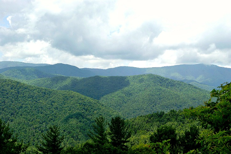 Family Fun in the Nantahala National Forest is as easy as can be.