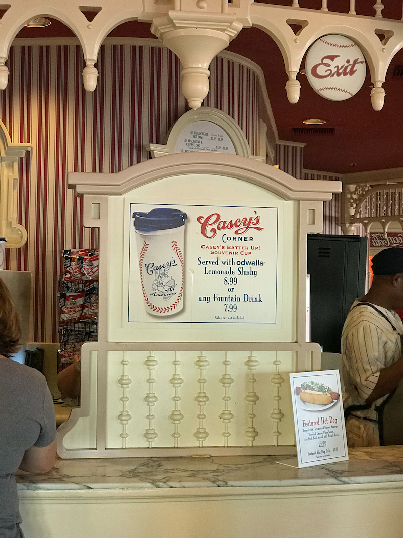 Souvenir Cup available at Casey's Corner