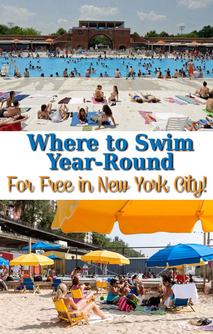 Did you know you can swim for free in New York City