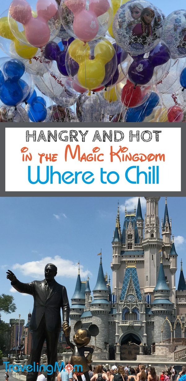 Disney World is no fun when you're tired, hot and hangry. Take a break in the Magic Kingdom! These tips show you the best places for a timeout.