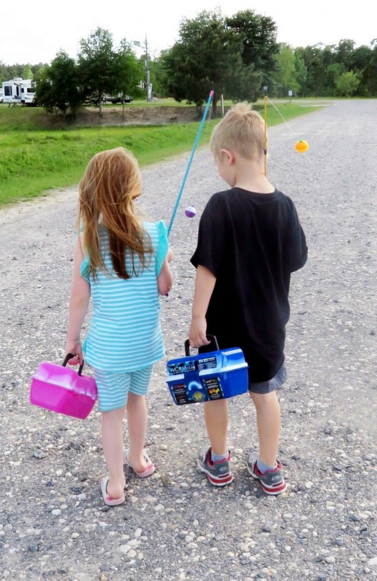 Travel trailer camping is an opportunity for families to unplug.