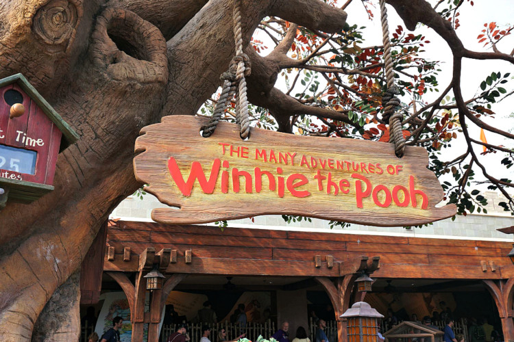 Winne Pooh is 1 of 11 Best Rides at Magic Kingdom for Toddlers