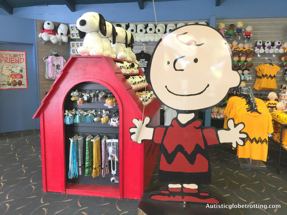 Our Family Adventure in Buena Park California led to the purchase of many Peanuts souvenirs
