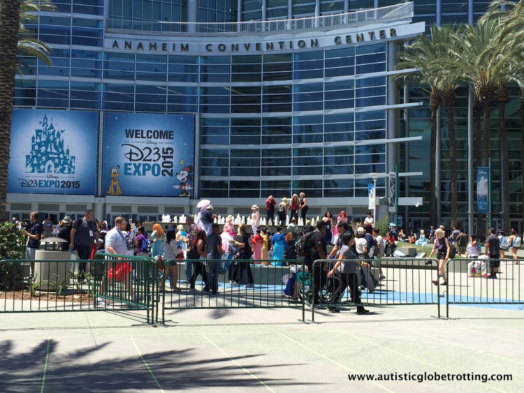 Attending Disney's D23 Expo on a shoestring budget arena