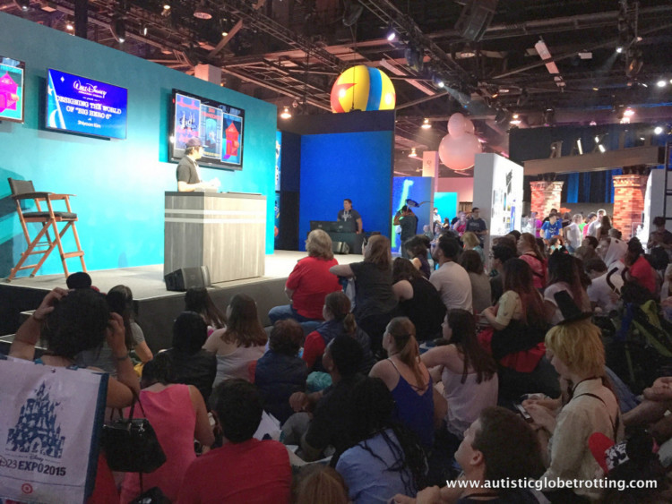 Attending Disney's D23 Expo on a shoestring budget show
