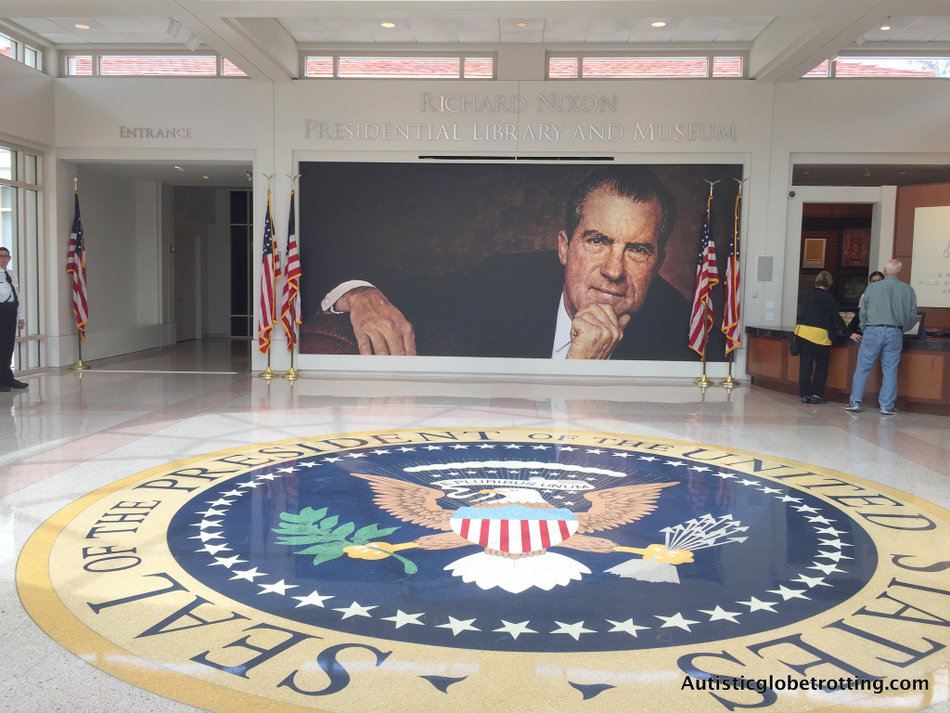 Our Family Adventure in Buena Park California included a visit to the Nixon Library.