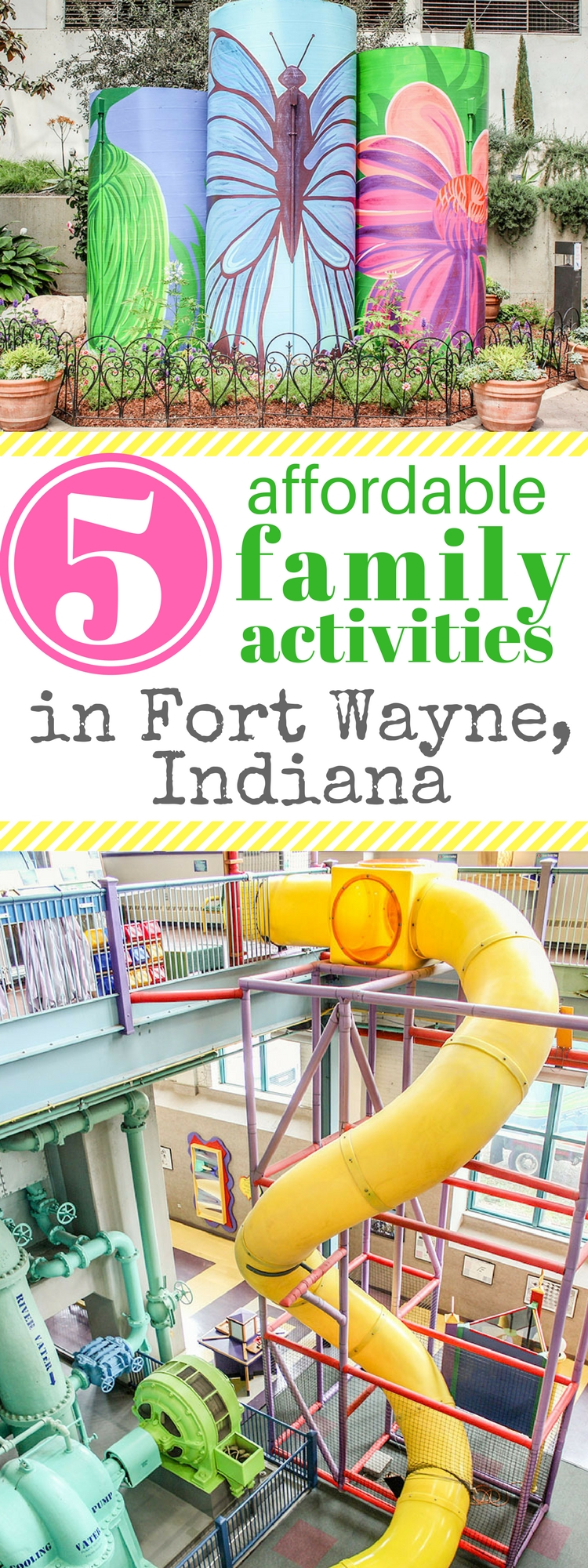 Looking for affordable family fun in Fort Wayne. We found 5 amazing family activities that we want to do again!
