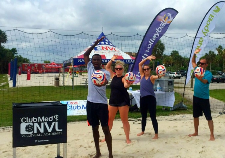 Beach volleyball is just one of the 6 things to try at Club Med Sandpiper Bay.
