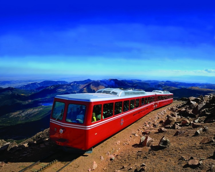 what are some of the adventures available at the broadmoor luxury colorado resort like the cog railway