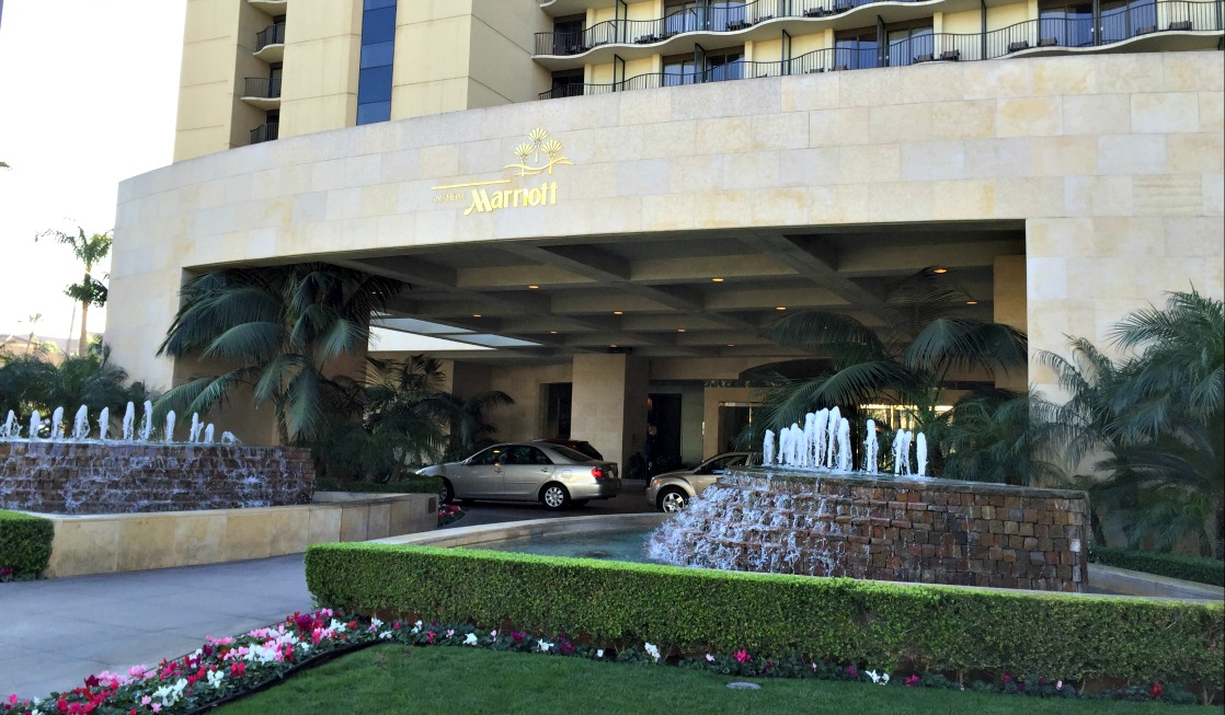 Anaheim Marriott Hotel near Disneyland and Anaheim Convention Center