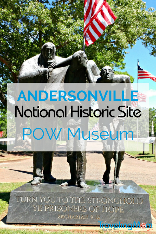 A trip to Andersonville National Historic Site and the National POW Museum can be emotional and engaging for a family. Located outside of Columbus, GA, Andersonville tells the story of the nearly 13,000 men who died there. as well as those who were Prisoners of War in other wars.