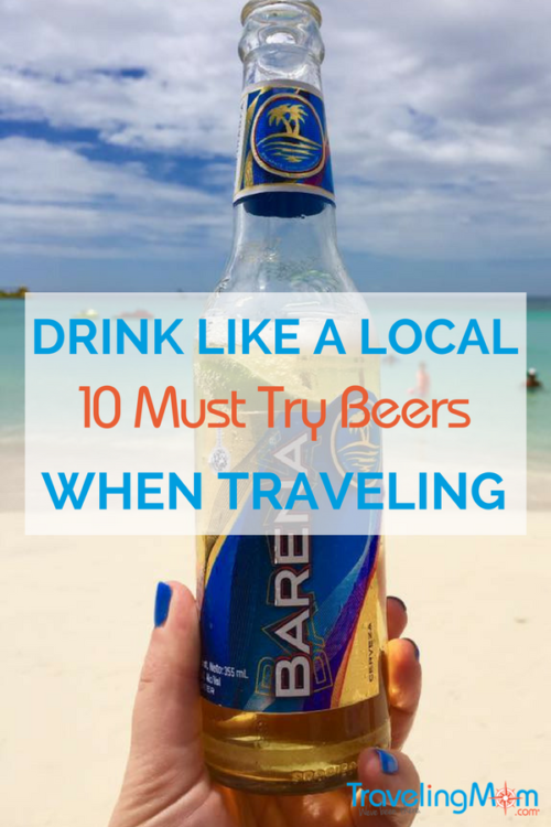 On the road and wondering what to drink? Check out these 10 international beers.