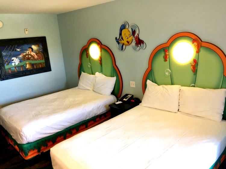 Art of Animation Resort Little Mermaid room