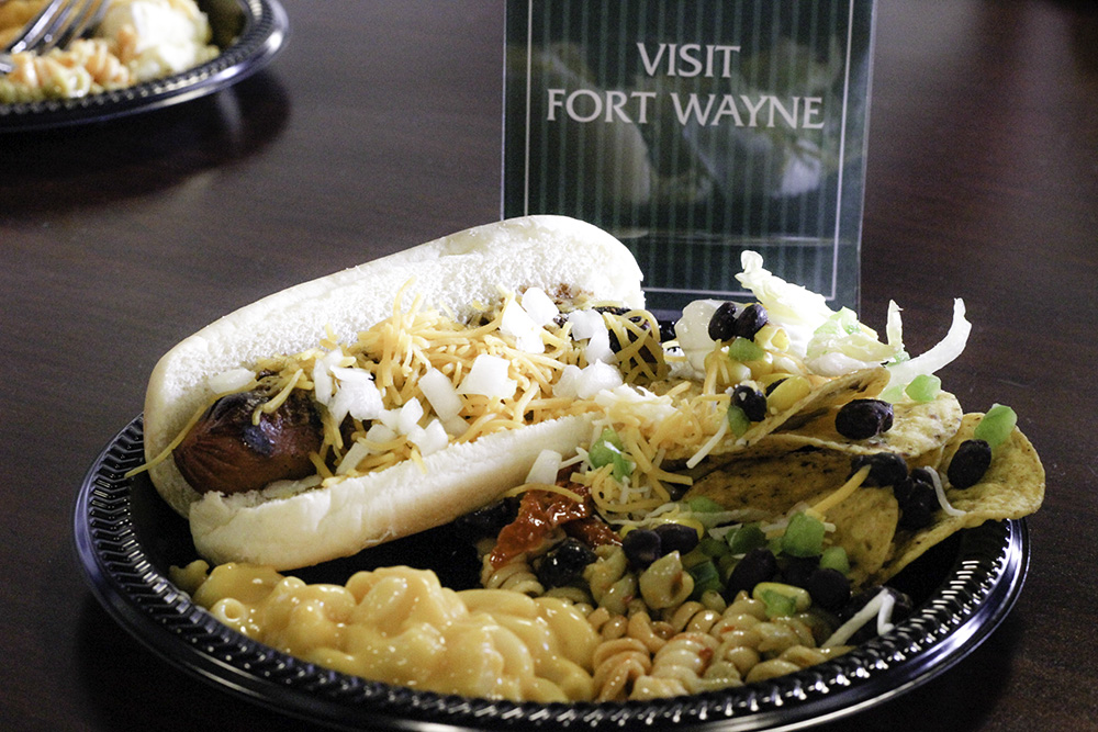 Affordable family fun in Fort Wayne: baseball food at the TinCaps game is affordable and delicious.
