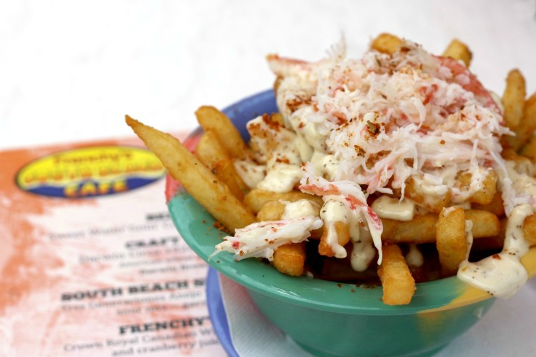 Frenchy's restaurants in Clearwater, Florida are known for their crab fries