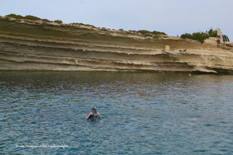 Snorkeling is one of the favorite things to do in Malta.