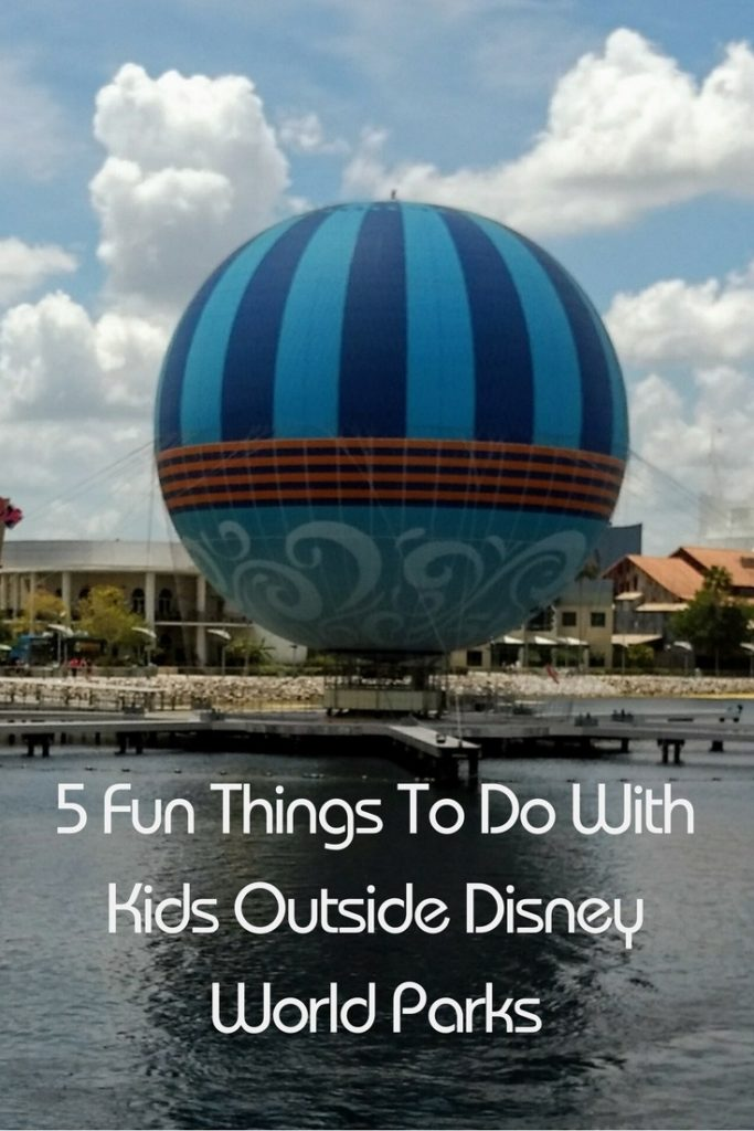 5 Fun things to do with kids outside Disney World.