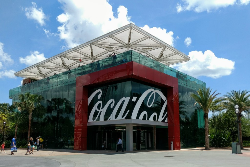 5 fun things to do outside Walt Disney Parks is visiting Coca Cola Store at Disney Springs