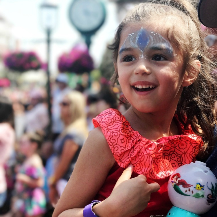 Toddlers will love the Festival of Fantasy Parade in Magic Kingdom where they can see all their favorite characters!