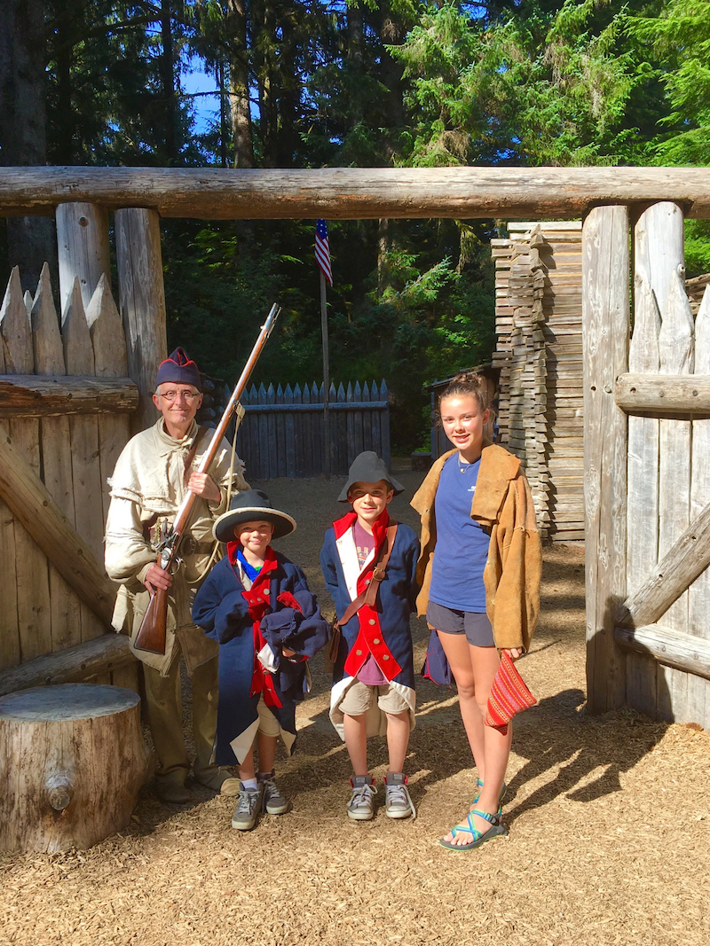 Take an Oregon family road trip at Fort Clatsop.