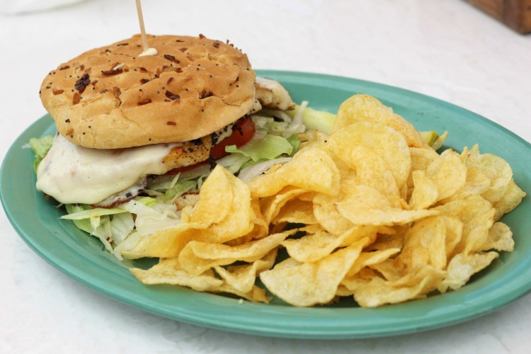 You can't visit Florida without ordering a grouper sandwich